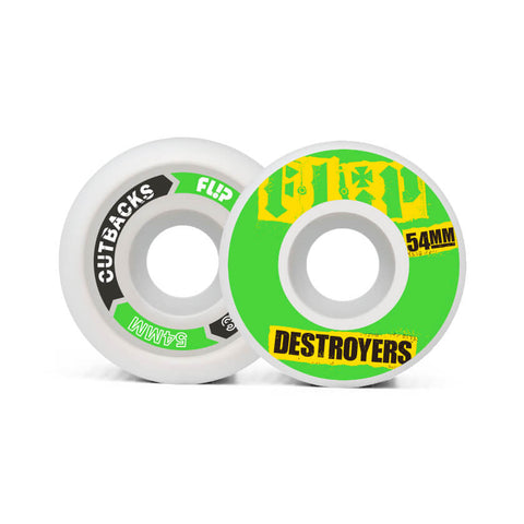 Flip Ruote Cutback Destroyers 54mm 99a Green
