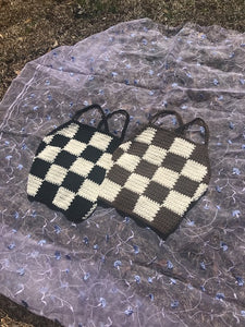 custom checkerboard tank