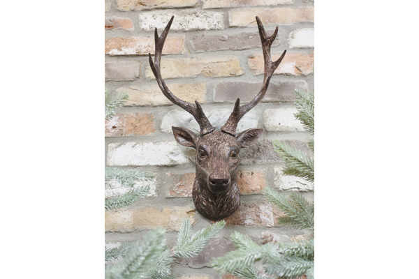 Stag Wall Bust