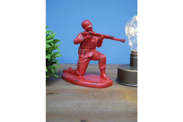 Classic Toy Solider Decor - Red