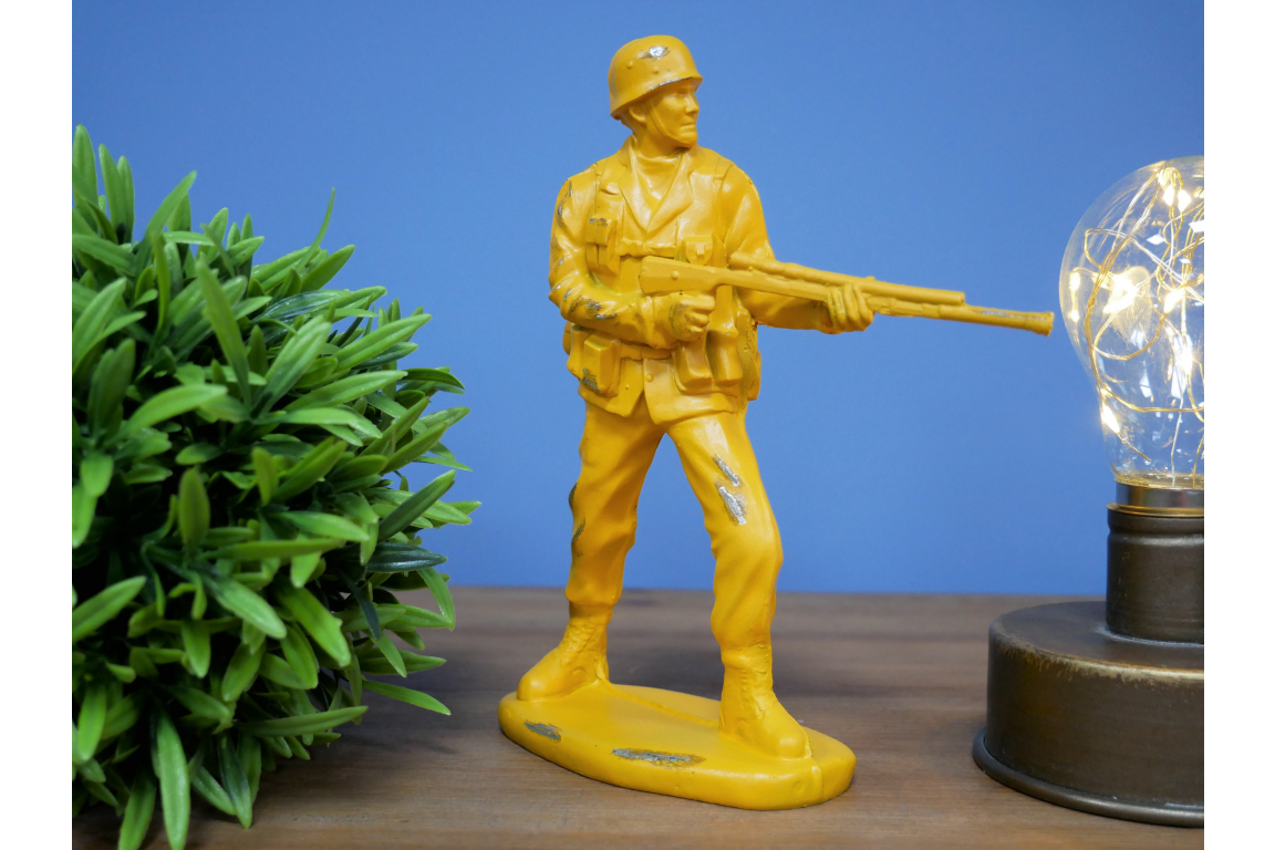 Classic Toy Solider Decor - Yellow