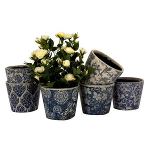 The Dutch Blue Planter - Ø12cm