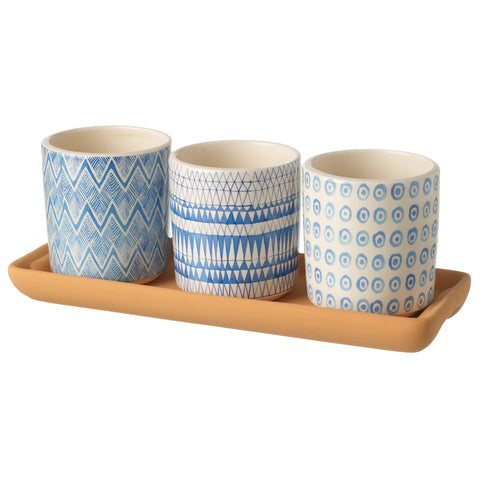 The Coast Planter Tray Set - Ø7cm