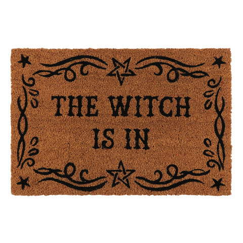'The Witch Is In' Doormat