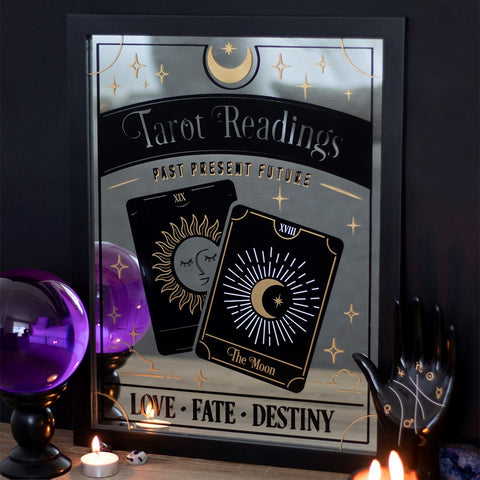 'Tarot Readings' Wall Mirror