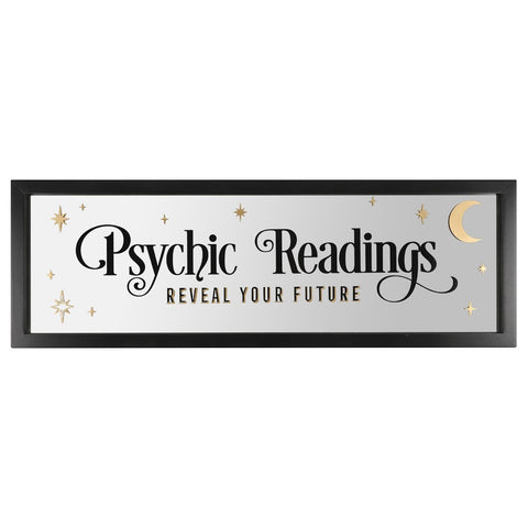 'Psychic Readings' Wall Mirror