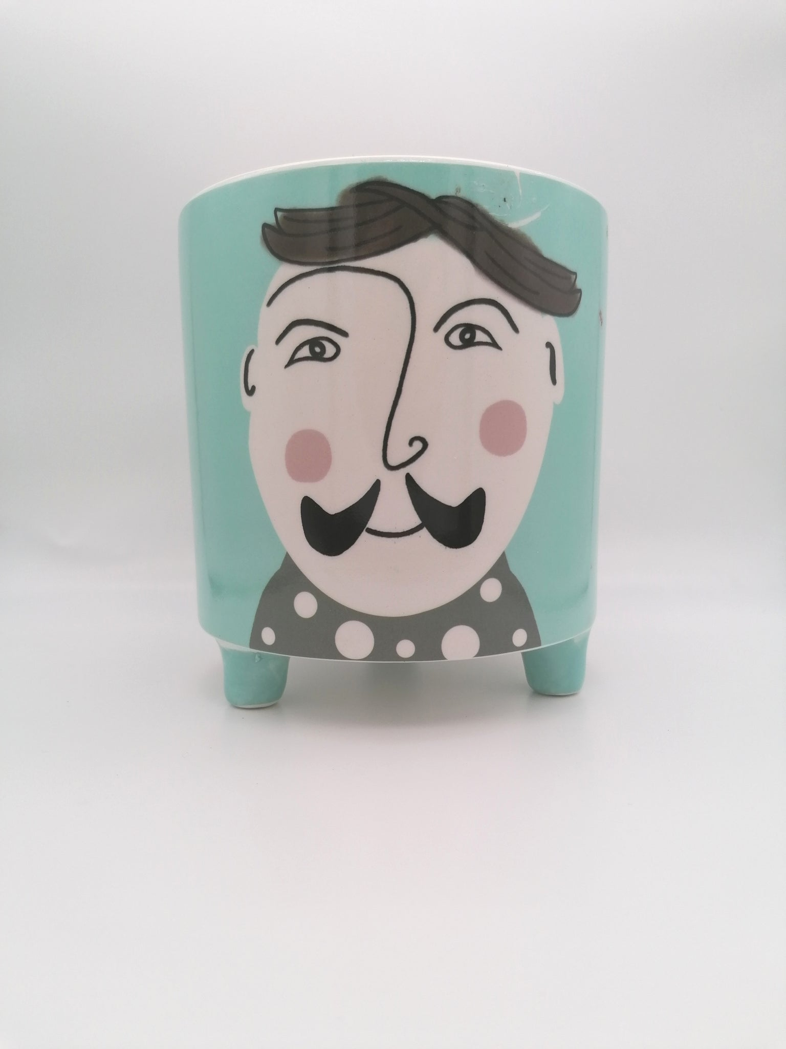 Imperfect Hipster Josh #1 Planter - Ø12cm