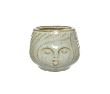 Kiss The Girl Glazed Planter - Various Sizes