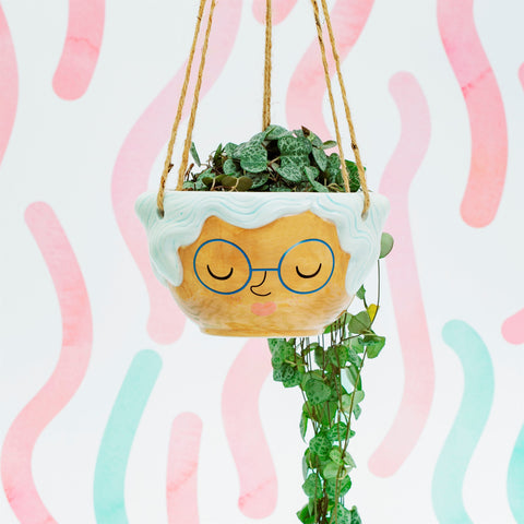 Sass & Belle //Rose Hanging Planter - Ø11cm