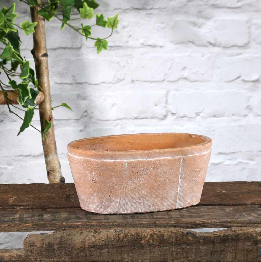 Rustic Terracotta Trough - Various Sizes