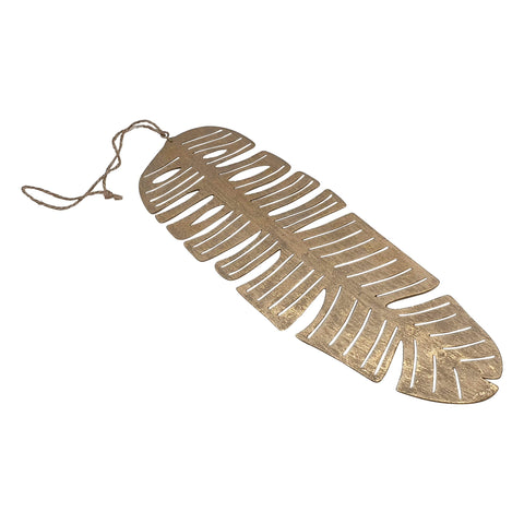 Banana Leaf Hanging - Gold