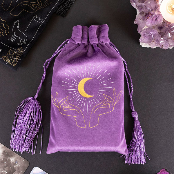 Fortune Teller Drawstring Pouch - 4 Designs