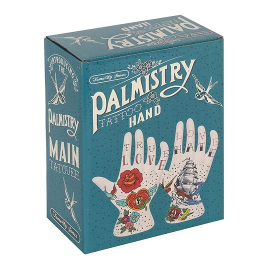 Tattoo Palmistry Hand - Love Hate
