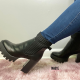 Date Night Bootie- Black Crp
