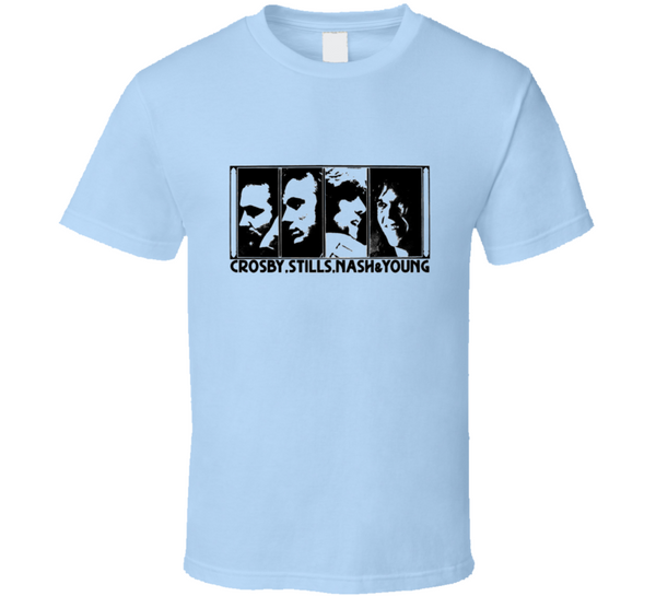 Crosby Stills Nash And Young T Shirt