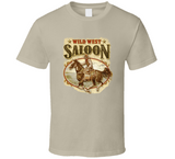 Wild West Saloon T Shirt
