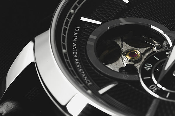 Pompeak watches Gentlemens open heart macro