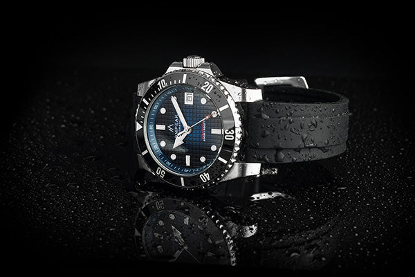 Pompeak watches Sub Aquatic water spray