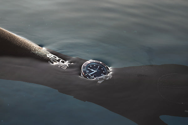 Pompeak watches Sub Aquatic wetsuit