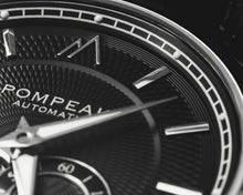 Load image into Gallery viewer, Pompeak automatic watch macro dial image.