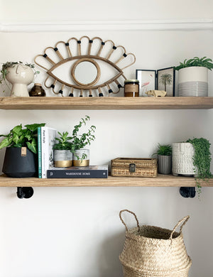 Botanical Shelf Styling for Spring | The Den & Now