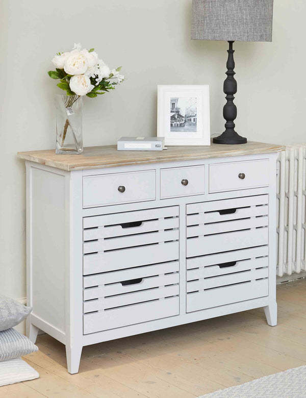 Nordic Grey Sideboard Servery | The Den & Now
