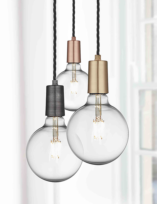 Vintage Sleek Edison Light by Industville | The Den & Now