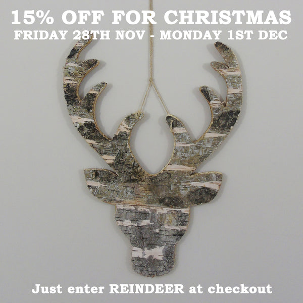 15% off for Christmas