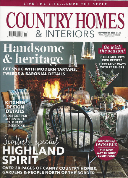 Country Homes & Interiors | November 2018