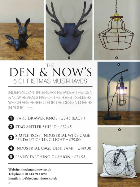 The Den & Now | 5 Christmas Must Haves | His & Hers Magazine
