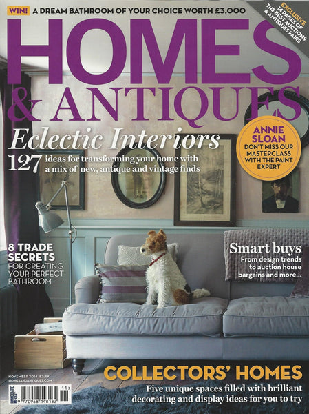 Homes & Antiques | November 2014 | Cover