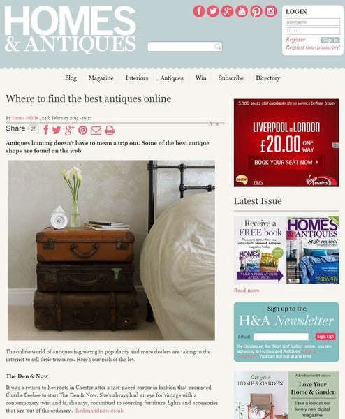 Homes & Antiques | Where To Find The Best Antiques Online