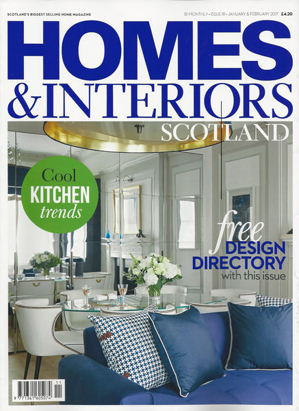 Homes & Interiors Scotland | January/February 2017 | Cover