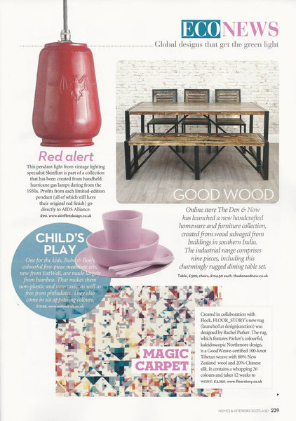 Industrial & Reclaimed Furniture & Homeware Collection | The Den & Now | Homes & Interiors Scotland | January/February 2017