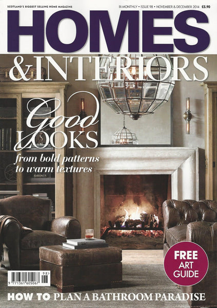 Homes & Interiors Scotland | November/December 2014 | Cover