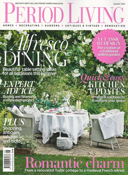 Period Living | August 2015 | Cover