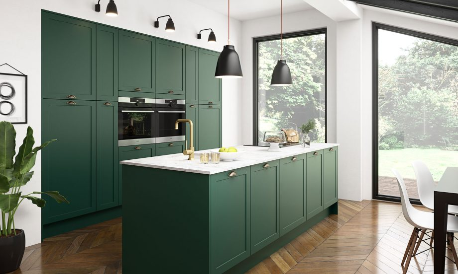 Green Kitchens | Magnet | The Den & Now