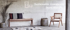 Sustainable Homeware | The Den & Now