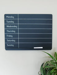 Chalkboard Weekly Planner | Buy Unique Homeware | The Den & No