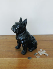 French Bulldog Ceramic Money Box | Buy Unique Homeware | The Den & Now