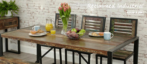 Industrial Reclaimed Furniture Collection | The Den & Now