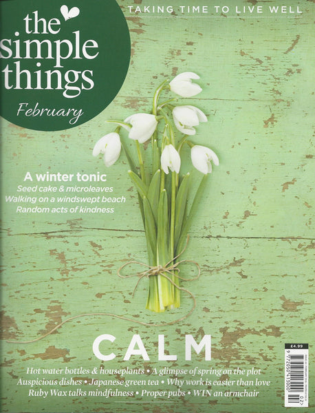The Simple Things | February 2016 | Cover
