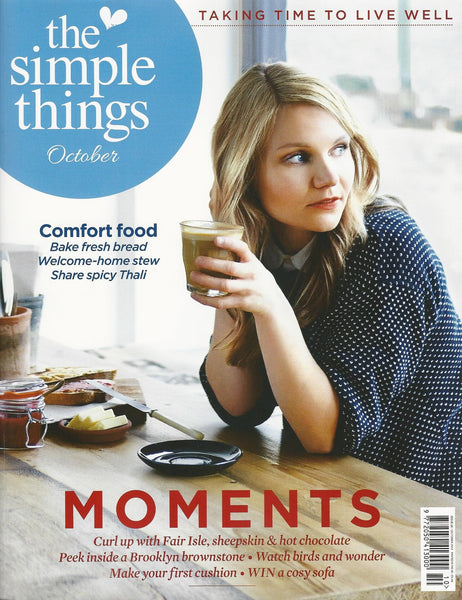 The Simple Things | October 2014 | Cover