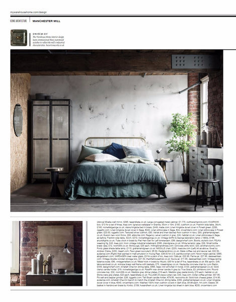 Warehouse Home | Issue 7 | The Den & Now | Faux Succulents