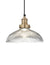 Industrial Brooklyn Glass Dome Pendant Light by Industville