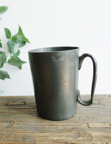 19th Century Pewter Tankard