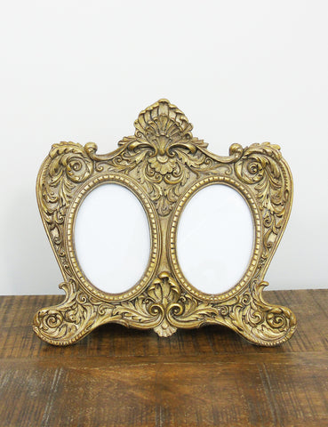 Antique Gold Photo Frame