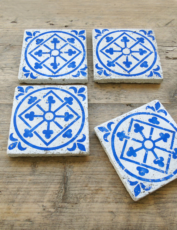 Blue Tile Coaster