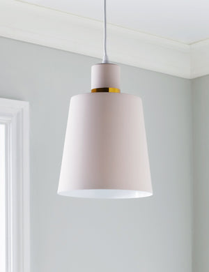 Blush Pink Pendant Light