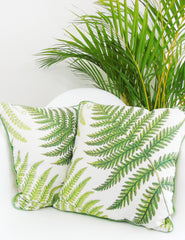 Botanical Fern Cushion | Buy Stylish Homeware | The Den & Now